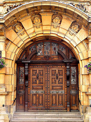 Photograph - Cathedral Door by John Bushnell