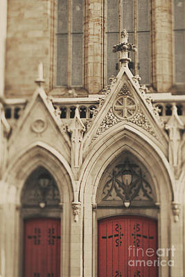 Photograph - Cathedral Entrance by Heather Green