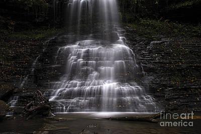 Photograph - Cathedral Falls At Base by Dan Friend