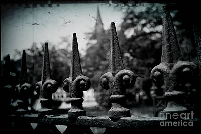 Fleur De Lis Photograph - Cathedral Fence by Scott Pellegrin