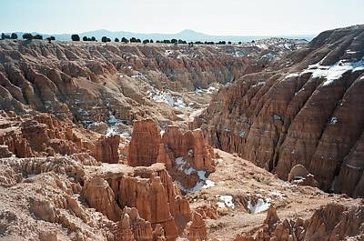 Cathedral Gorge Art Print