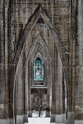 Photograph - Cathedral Gothic by Wes and Dotty Weber
