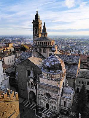 Cathedral In Bergamo Art Print by Karol Kozlowski