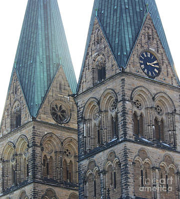 Cathedral In Bremen Art Print