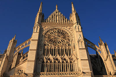 Photograph - Cathedral In Evening Light by Aidan Moran