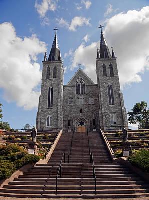 Cathedral In Midland Ontario Art Print by Marek Poplawski