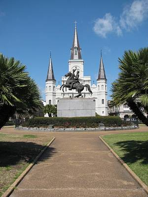 Cathedral In New Orleans Original
