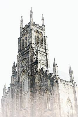 Photograph - Cathedral In The Mist by Marcia Lee Jones