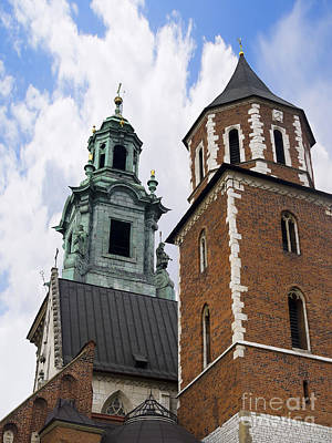 Photograph - Cathedral In Wawel Castle by Brenda Kean