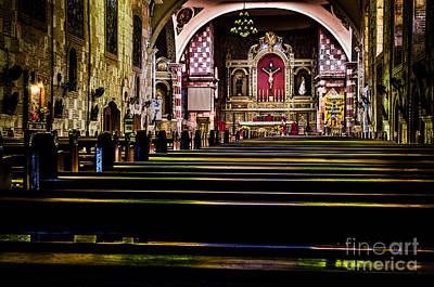 Photograph - Cathedral Interior 2 by Michael Arend