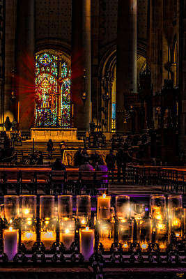 Photograph - Cathedral Interior by Chris Lord