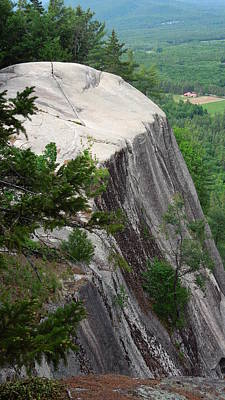 Photograph - Cathedral Ledge by Caroline Stella