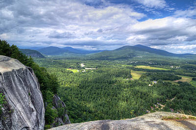 New Photograph - Cathedral Ledge View by Donna Doherty