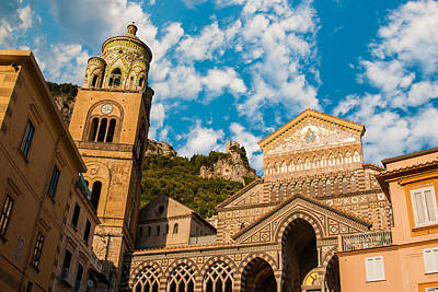 Cathedral Of Amalfi Art Print