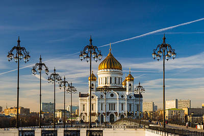 Cathedral Of Christ The Savior 3 - Featured 3 Art Print by Alexander Senin