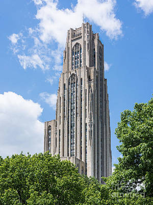 Photograph - Cathedral Of Learning - Pittsburgh Pa by John Waclo