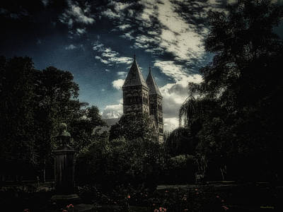 Cathedral Of Lund Art Print by Ramon Martinez