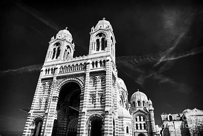 Cathedral Of Marseille Art Print