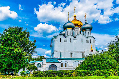 Reconstruction Photograph - Cathedral Of Our Lady Of Smolensk by Alexander Senin