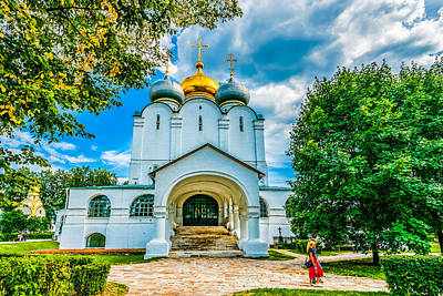 Reconstruction Photograph - Cathedral Of Our Lady Of Smolensk And Prokhorov Chapel by Alexander Senin