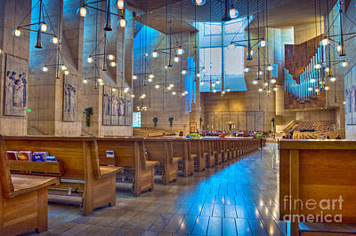 Photograph - Cathedral Of Our Lady Of The Angels Los Angeles by David Zanzinger