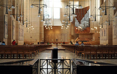 Wall Art - Photograph - Cathedral Of Our Lady Of The Angels  by Mark Sullivan