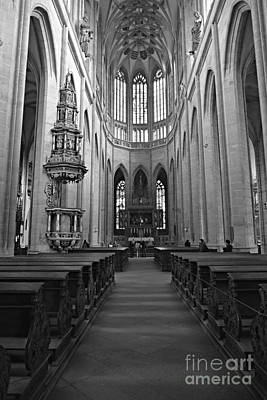 Photograph - Cathedral Of Our Lady by Steven Liveoak