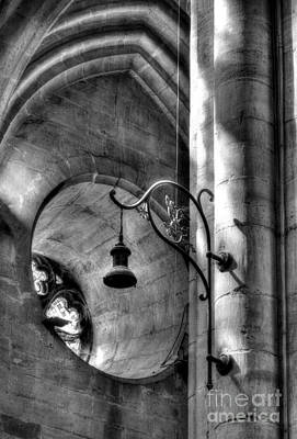 Photograph - Cathedral Of Saint Maurice Bw by Mel Steinhauer
