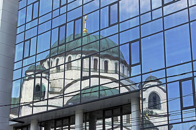 Photograph - Cathedral Of Saint Sava  by Tony Murtagh