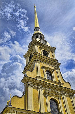 Cathedral Of Saints Peter And Paul - St. Persburg Russia Art Print
