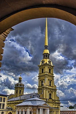 Cathedral Of Saints Peter And Paul - St. Petersburg Russia Art Print