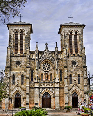 The Main Photograph - Cathedral Of San Fernando by Heather Applegate