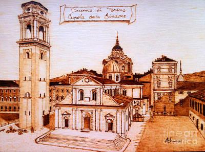 Cathedral Of San Giovanni - Turin Original by Annalisa Ferrari