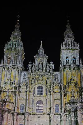 Photograph - cathedral of Santiago de Compostela Spain by Rudi Prott
