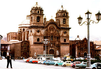 Photograph - Cathedral Of Santo Domingo by Robert  Rodvik