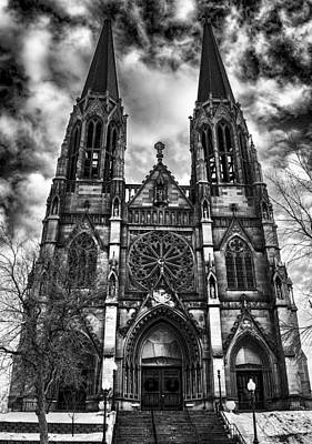 Photograph - Cathedral Of St. Helena 2 by Fran Riley
