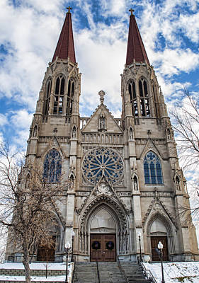 Photograph - Cathedral Of St. Helena by Fran Riley
