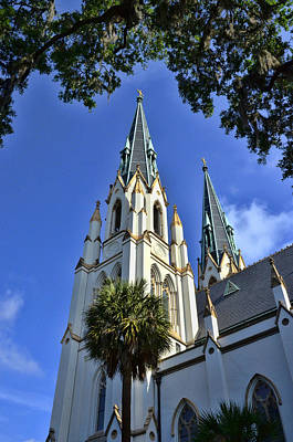 Photograph - Cathedral Of St. John The Baptist by Allen Beatty