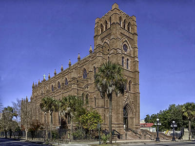 Cathedral Of St. John The Baptist Charleston Print by Lynn Palmer