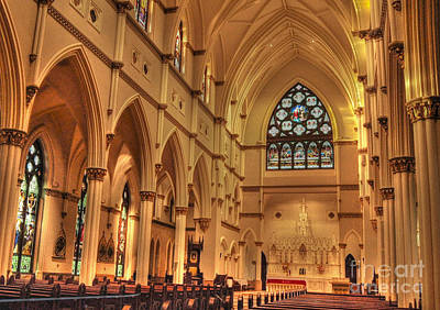 Photograph - Cathedral Of St. John The Baptist by Kathy Baccari