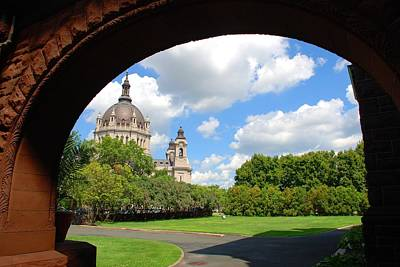 Photograph - Cathedral Of St Paul by Charlie and Norma Brock