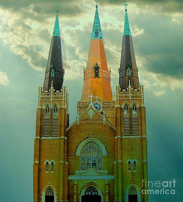 Cathedral Of The Holy Family  Art Print