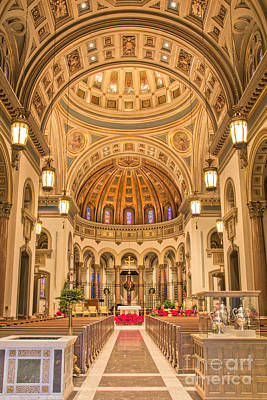 Photograph - Cathedral Of The Sacred Heart 2 by Jemmy Archer