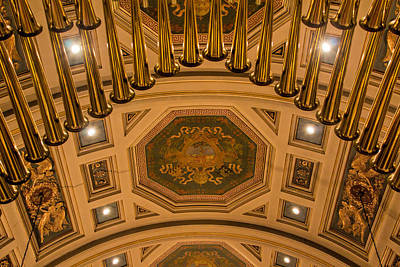 Photograph - Cathedral Of The Sacred Heart Ceiling by Jemmy Archer