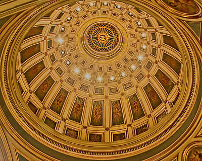 Photograph - Cathedral Of The Sacred Heart Dome by Jemmy Archer