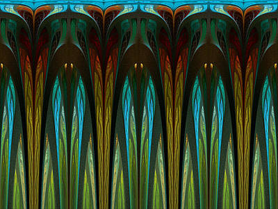 Digital Art - Cathedral Of The Three Sisters by Amy  Gillespie