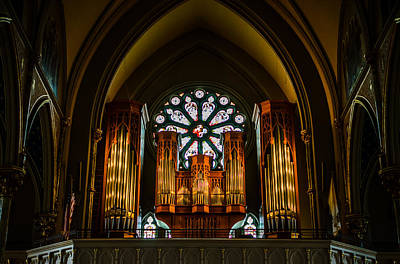 Photograph - Cathedral Organ by Anthony Doudt