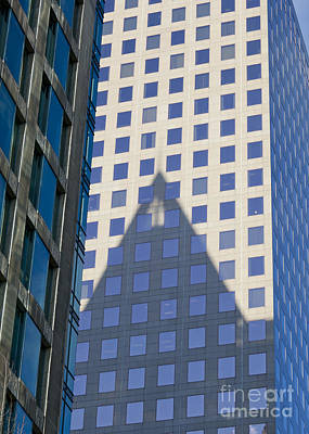 Photograph - Cathedral Place Shadow by Chris Dutton