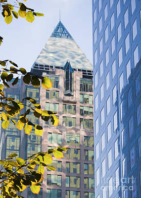 Photograph - Cathedral Place Vancouver by Chris Dutton
