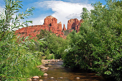 Photograph - Cathedral Point - Sedona Arizona by Gregory Ballos